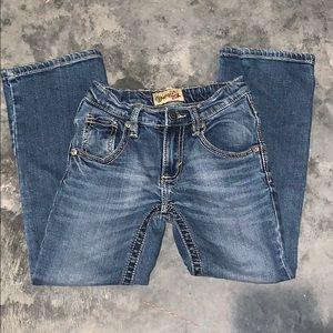 Wrangler 20X boy jeans size 9 slim